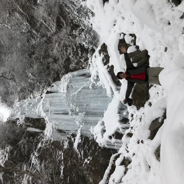英彦山 幻の滝「四王寺滝」